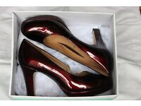 Clarks Anika Kendra high heel dress shoe, size 6 (wide). Worn only once