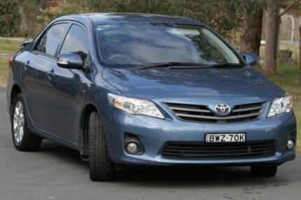 2011 Toyota Corolla Ascent Sport Sedan New Lambton Heights Newcastle Area Preview