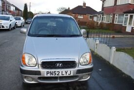 nice and clean car since last seven years lady driving the car, mot failed for immediate sale