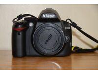 NIKON DSLR with dual Nikon lenses (18-55 and 55-200)