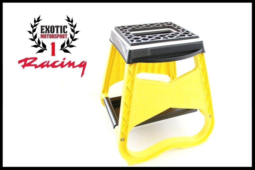 Brilliant Motorcycle Racing Offroad Motocross Dirt Bike Stand Stool Short Links Chair Design For Home Short Linksinfo