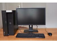 DELL Desktop PC with Monitor, Mouse and Keyboard