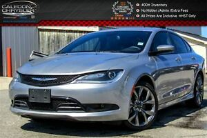 2016 Chrysler 200 S|Navi|Pano Sunroof|Backup Cam|Bluetooth|Pwr S