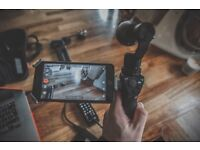 *Like New* DJI Osmo Gimbal + Extra Battery + ND Filter + Microphone