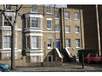 Two double bedroom raised ground floor conversion flat in Clapham close to High St and tubes