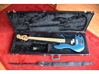 Fender USA American Standard Precision Bass (P Bass) 1998/1999 with added Jazz pickup + Fender case