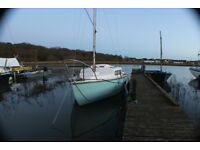 19ft Hurley Alacrity Sailing Boat