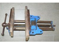 Bench vice - Record - Quick-release, 52 1/2