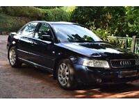 Audi A4 1.8 SE 4dr, petrol, parking assist, leather interior, full service history