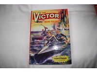 The Victor Book for Boys hardback annual 1965
