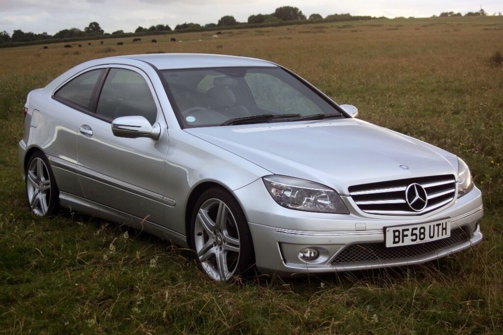2008 58 mercedes clc 220 cdi sport automatic full mb service history c class in yate. Black Bedroom Furniture Sets. Home Design Ideas