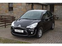 2012 CITROEN C3 VTR PLUS (MANUAL / PETROL) - Low Mileage - 1 Lady Owner - AC - Full Service History