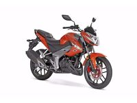 Kymco CK1 125cc motorcycle - 2 years parts and labour warranty - only £2,072