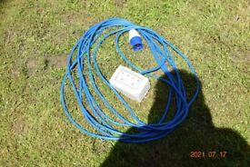 electric hookup 10 metre