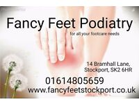 Fancy Feet Podiatry/Chiropody - Day/Eve/Weekend appointments available