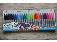 28 Pack of Assorted Sharpies *NEW*