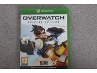 XBOX ONE game - Overwatch origins edition in excellent condition