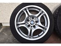 Original BMW alloys 17 in very good condition