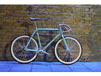 Christmas SALE ! GOKU Steel Frame Single speed road bike TRACK bike fixed gear V7HU