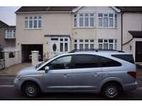 2009 SSANGYONG RODIUS 2.7 DIESEL AUTOMATIC GEARBOX/7 SEATS