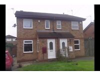 Outwood Wakefield Superb 2 Bed Semi Detached House in quiet cul-de-sac.