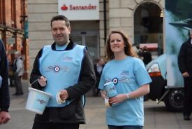 Fundraisers required for the Motherwell Fundraising Group for the Royal Air Forces Association