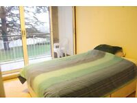 Kingston: Double room with balcony in perfect riverside Location