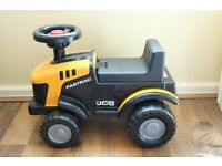 Kid's Ride On Fastrac JCB Tractor Truck Toy