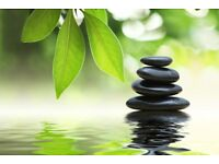 Relaxation massage & hot stones