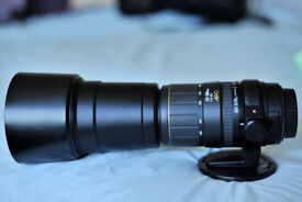 Sigma 170-500mm f5-6.3 APO zoom lens (spares or repairs error message 01 not auto focusing)