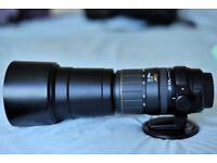 Sigma 170-500mm f5-6.3 APO zoom lens (spares or repairs error message 01 not auto focusing)