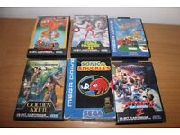 Retro Gaming - Megadrive Games Bundle including Sonic and Knuckles, Street of Rage 2 ...