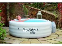 lay z spa vegas 4-6 person hot tub used 3 times