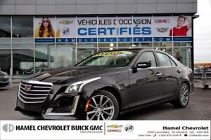 2017 Cadillac CTS SEDAN LUXURY 4X4, TOIT OUVRANT, NAVIGATION