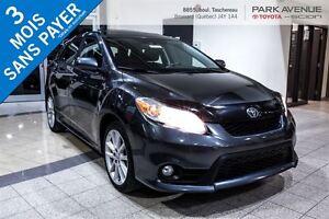 2013 Toyota Matrix 74$/SEMAINES * 3 ANS 60 000 KILOMÈTRES GARANT
