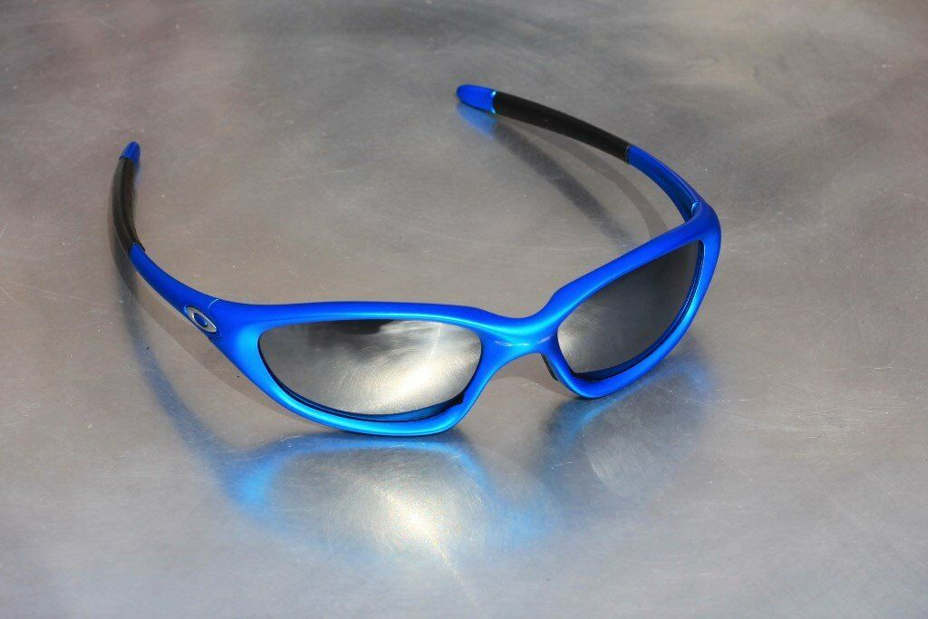 5d7b783aa3 ... new zealand oakley sunglasses xx twenty electric blue. rare. 1df6e 45ab7
