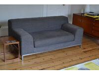 Grey 2-seater IKEA Kramfors Sofa
