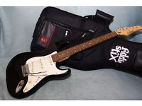 Crafter Junior Strat complete with Kit Bag and Rocket 10 Amp - owned since new with original receipt
