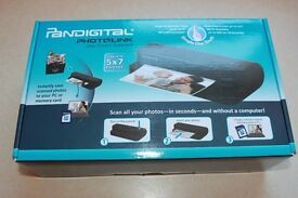 Pandigital One-Touch Scanner - No computer required!