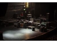 Professional SOUND, LIGHT, STAGE and VIDEO equipment available .