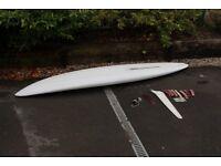 Big old windsurf board
