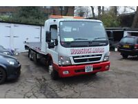 Mitsubishi Fusi Slidebed Recovery Truck