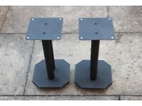 B-Tech BT604 - Atlas™ Sound Isolating Loudspeaker Floor Stands 40cm - Finished in Black