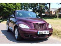 Chrysler PT Cruiser 2.2 CRD. 1 Lady Owner, FSH, Recent MOT. All Invoices from new.