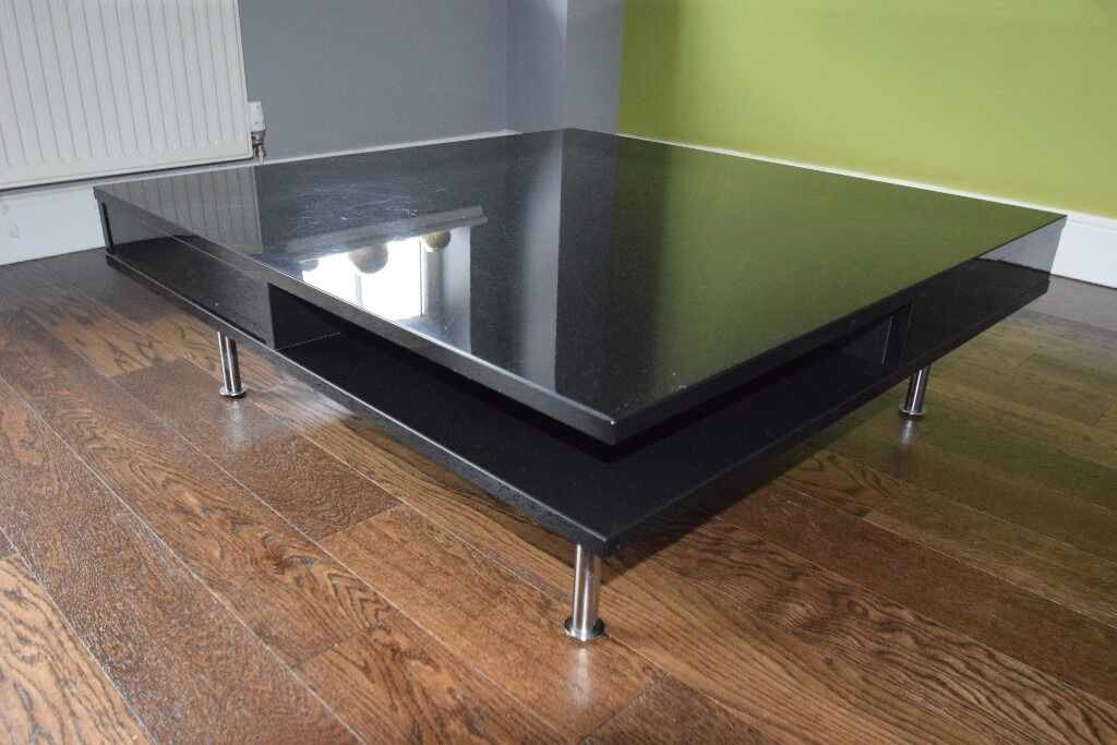 Ikea Tofteryd Coffee Table High Gloss Black In Southside Glasgow Gumtree