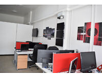 Rent a desk in office, Jewellery Quarter Birmingham B18 (Bills included)