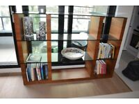 Calligaris contemporary modular bookcase with open compartments