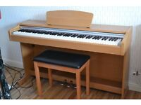 Yamaha YDP-131 Electric Piano with Yamaha Stool (Colour Cherry)