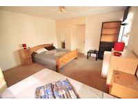 SUPERLATIVE EXTRA LARGE TWIN ROOM/DOUBLE IN SWISS COTTAGE UNMISSABLE PRICE !!!217PW!!!