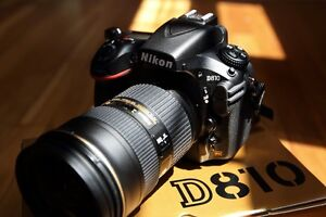 Nikon d810 with 24-70mm 2.8 and 50mm 1.4